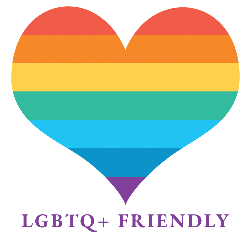 lgbtq-friendly heart